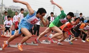 校园运动会广播稿