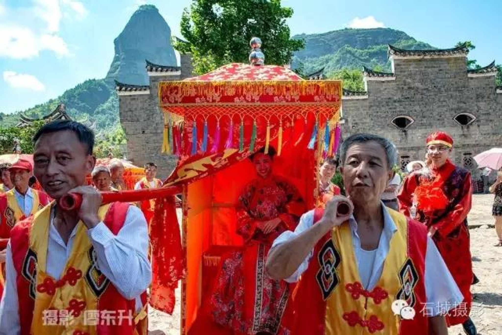 图说:石城客家传统婚礼仪式及其文化意义图片