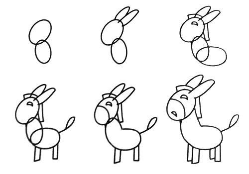 【简笔画】一笔一笔画小动物