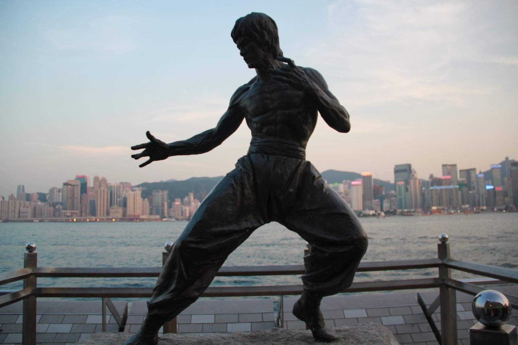 香港星光大道 走走 看看 摸摸